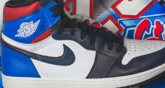 This Custom Air Jordan 1 Travels Back to the 1991 All-Star Game