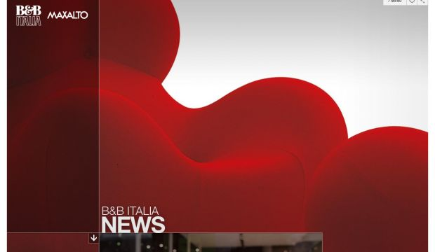 BandB Italia Modern Contemporary Furniture Webdesign