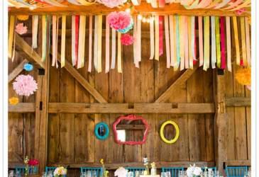 Inspiración bodas: La locura de las cintas de colores