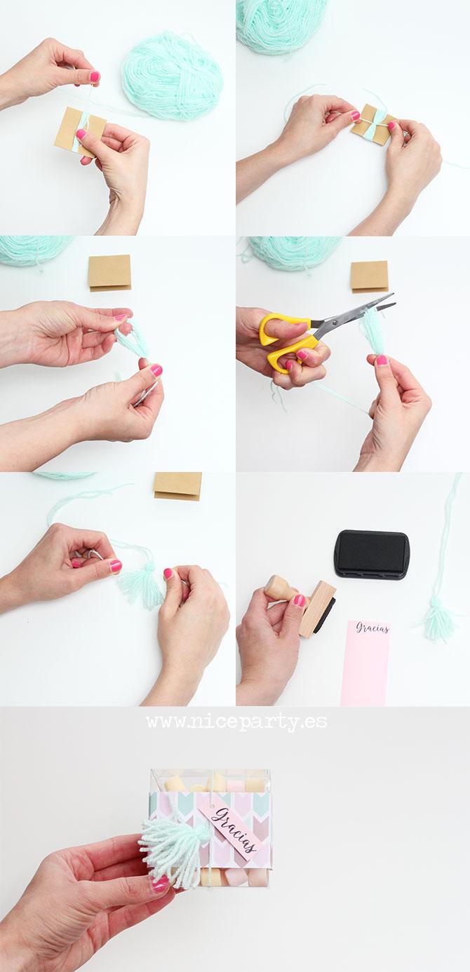 DIY cajitas de regalo para la profesora y los compañeros de clase (2)