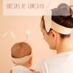 DIY: Falsas orejas de conejo para niños y adultos