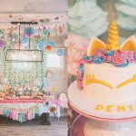 La fiesta unicornio de Demi