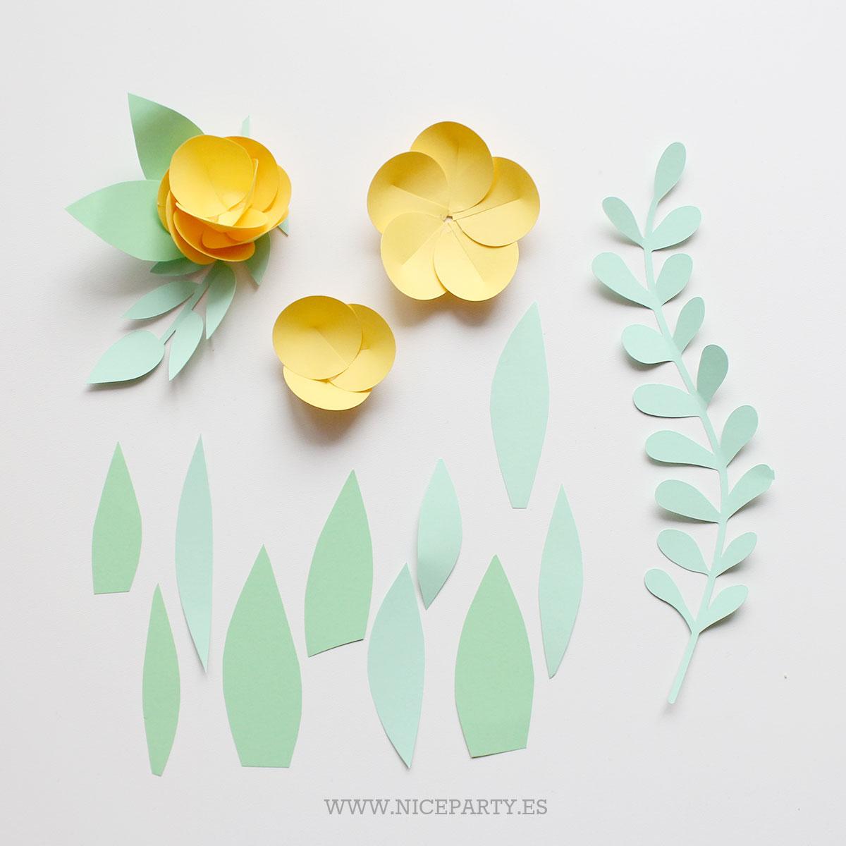 Nice Party Flores de papel