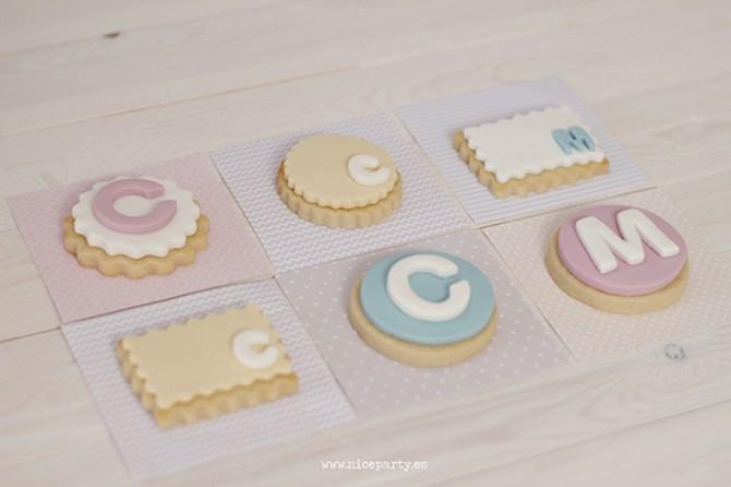 Nice Party galletas de comunión
