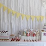 Nice Party: Una mesa de dulces en tonos pastel