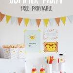 Summer Party: Imprimible gratis