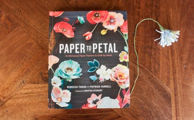Paper to petal libro de manualidades flores de papel