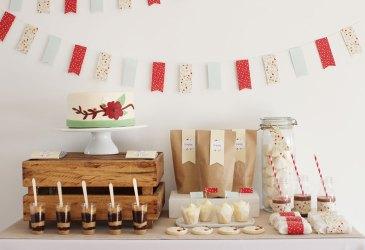 Cómo preparar una mesa dulce para una Primera Comunión