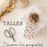Taller navideño en Madrid: Decora tus paquetes con papel de seda