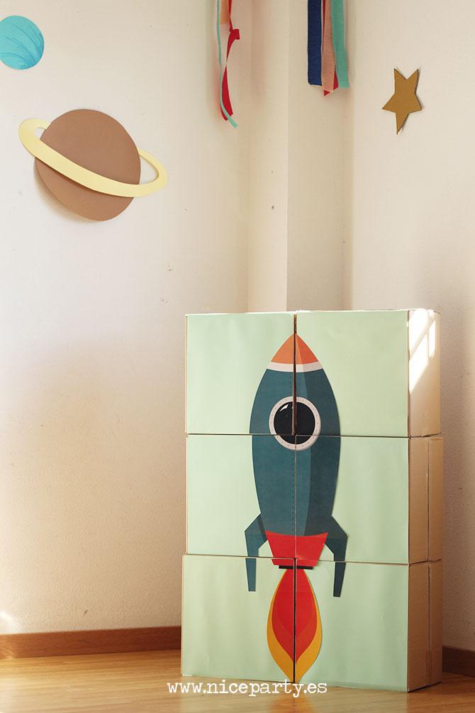Nice Party Cumpleaños espacial Kit de fiesta para imprimir (2)