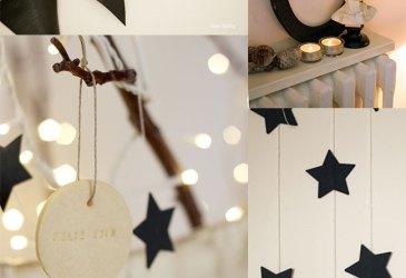 Inspiración: Empaquetar la navidad en blanco y negro