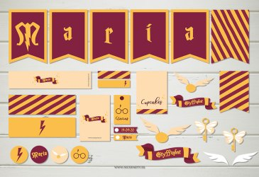 Fiesta personalizada Harry Potter