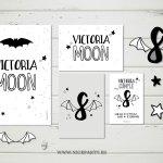 Kit imprimible cumpleaños Isadora Moon