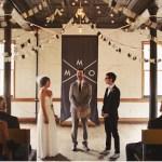 Inspiración: Grises y dorados para una boda
