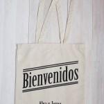 Bolsas de tela como regalo para invitados