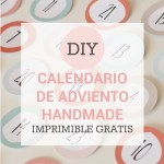 FREEBIE: Imprimible calendario de adviento