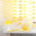 Cosas bonitas: Guirnalda de flores amarillas