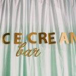 Inspiración bodas: Una barra de helados