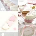 Colores de comunión: Rosas pastel
