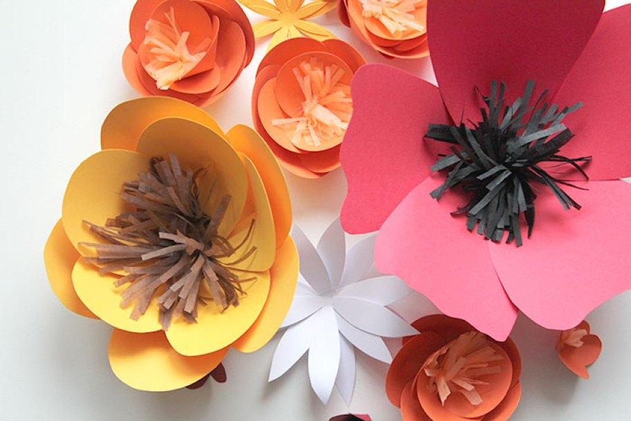 Nice Party taller de flores de papel en Madrid
