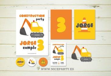 Nuevos kits imprimibles coches, dinosaurios y construcción