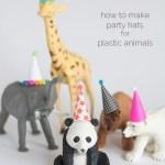 Cosas bonitas: Mini gorritos de fiesta