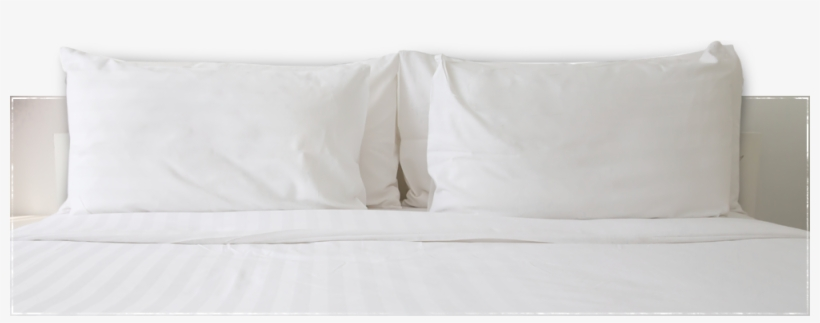 pillows on bed bed transparent png