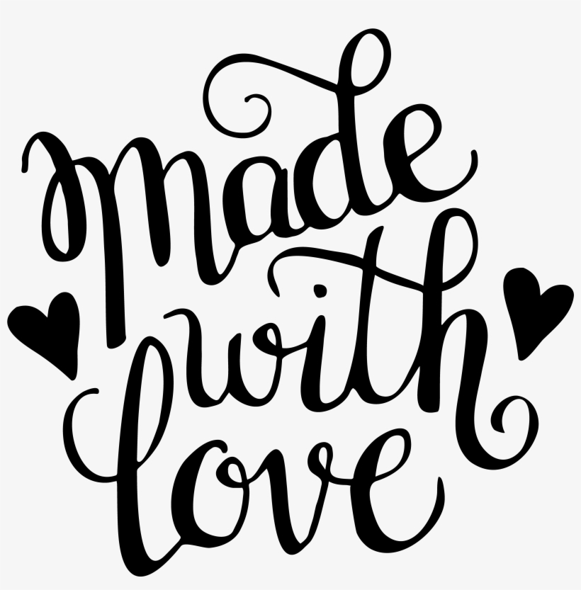 Download Made With Love Svg Transparent PNG - 5000x5000 - Free ...