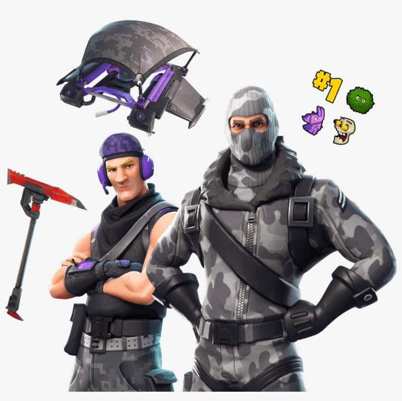 Fortnite Twitch Prime Skin Png