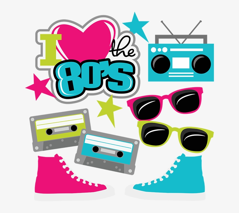 Download I Love 80s Png - Love The 80s Svg Transparent PNG ...