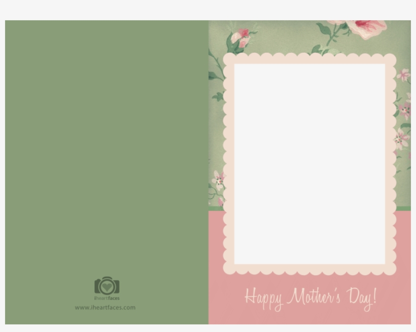 mothers day card template clipart paper