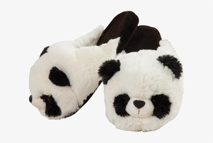 comfy panda slippers panda pillow pet