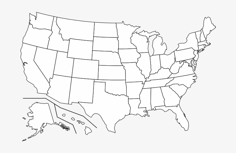 Image maps are used extensively on the world wide web. R Transparent Us States Map High Resolution Blank Us Map Transparent Png 700x467 Free Download On Nicepng