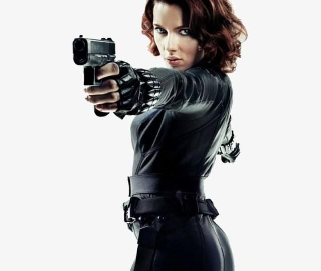 Black Widow Scarlett Johansson Sexy Transparent Png X