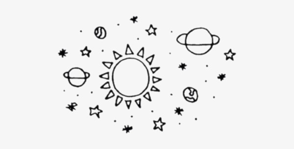 Stars And Moon Drawing Transparent PNG 720x720 Free