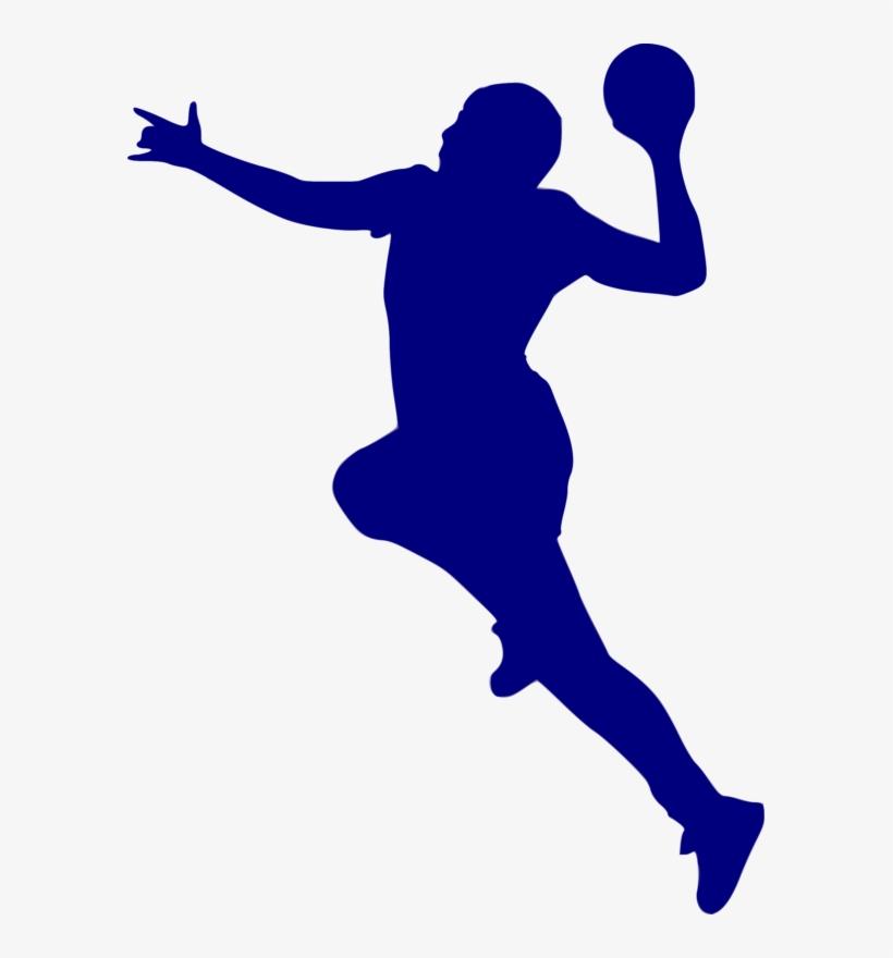 silhouette handball jpg transparent png