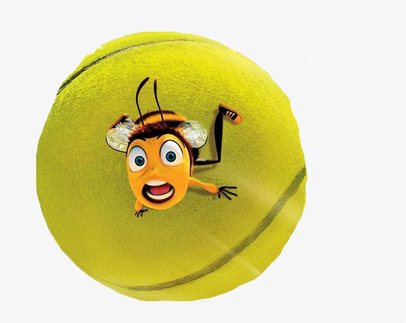 Bee Movie Tennis Ball Gif Transparent Png 749x572 Free Download On Nicepng
