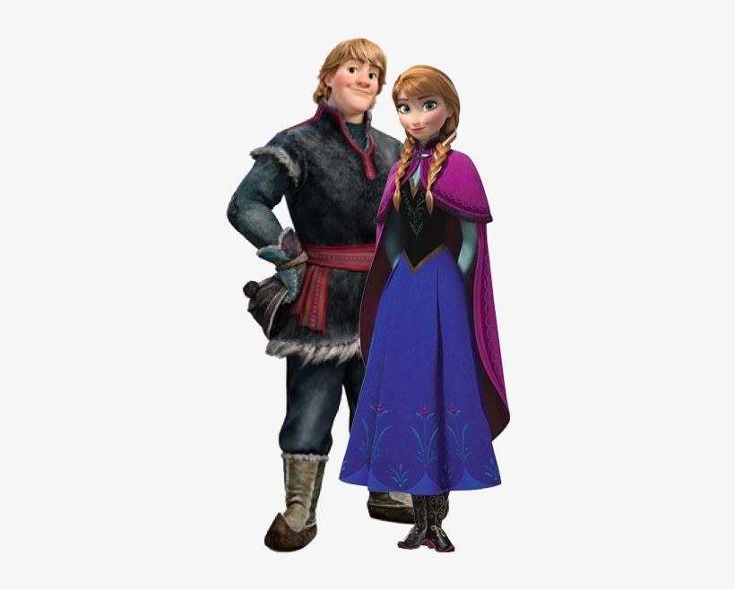 Anna And Kristoff Kristoff And Sven Frozen Transparent Png 332x590 Free Download On Nicepng