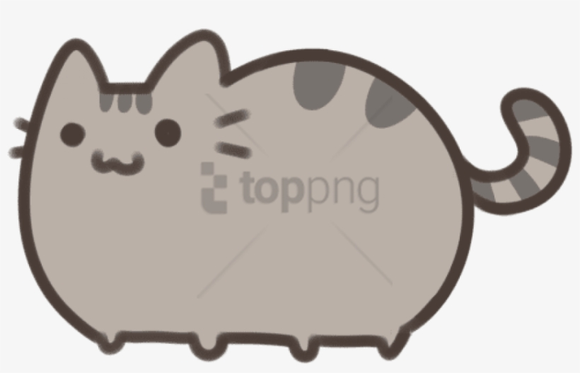 Free Png Download Cute Pusheen Cat Drawings Png Images Cute Easy Cat Drawings Transparent Png 850x505 Free Download On Nicepng