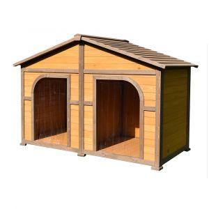 niche pour chien avec terrasse niche