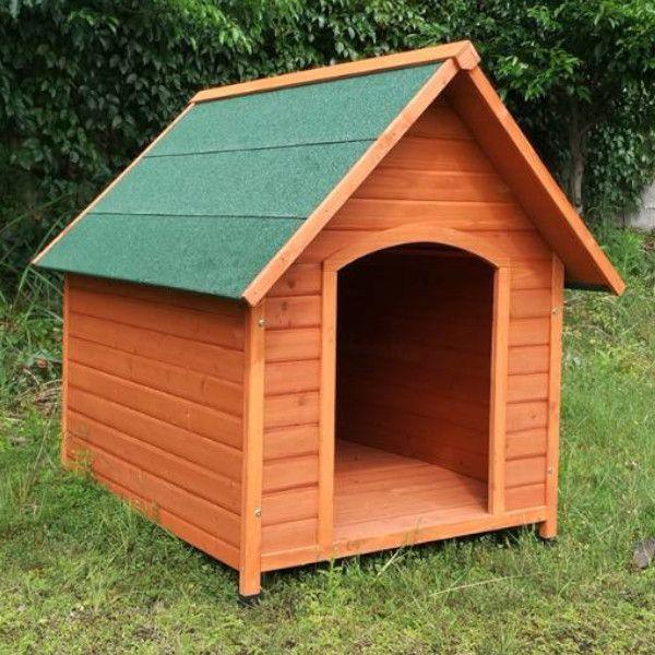 niche a chien natura toit shingle taille xl