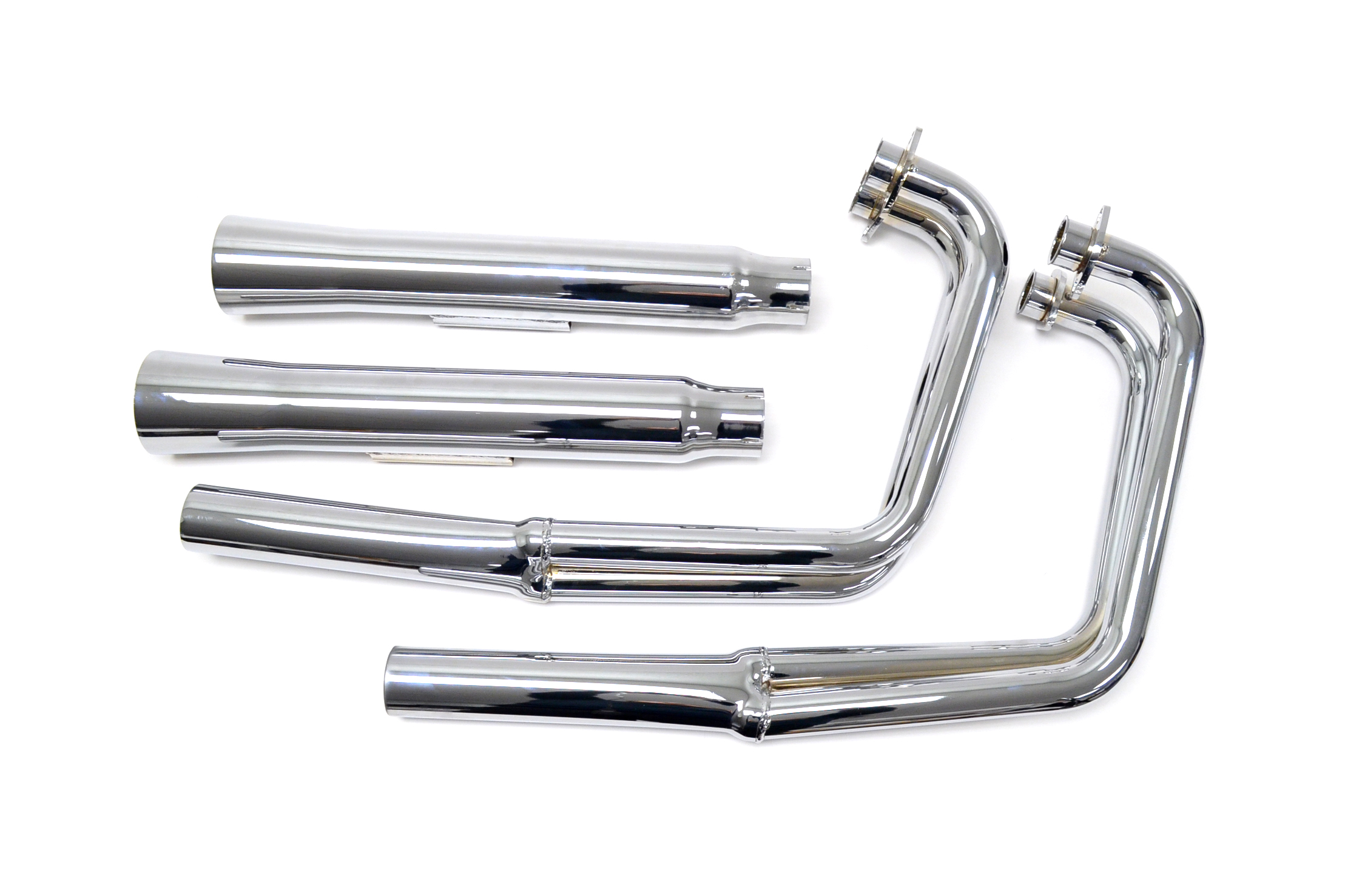 Yamaha Xs Xj Mac 4 2 Chrome Flare Tip Exhaust