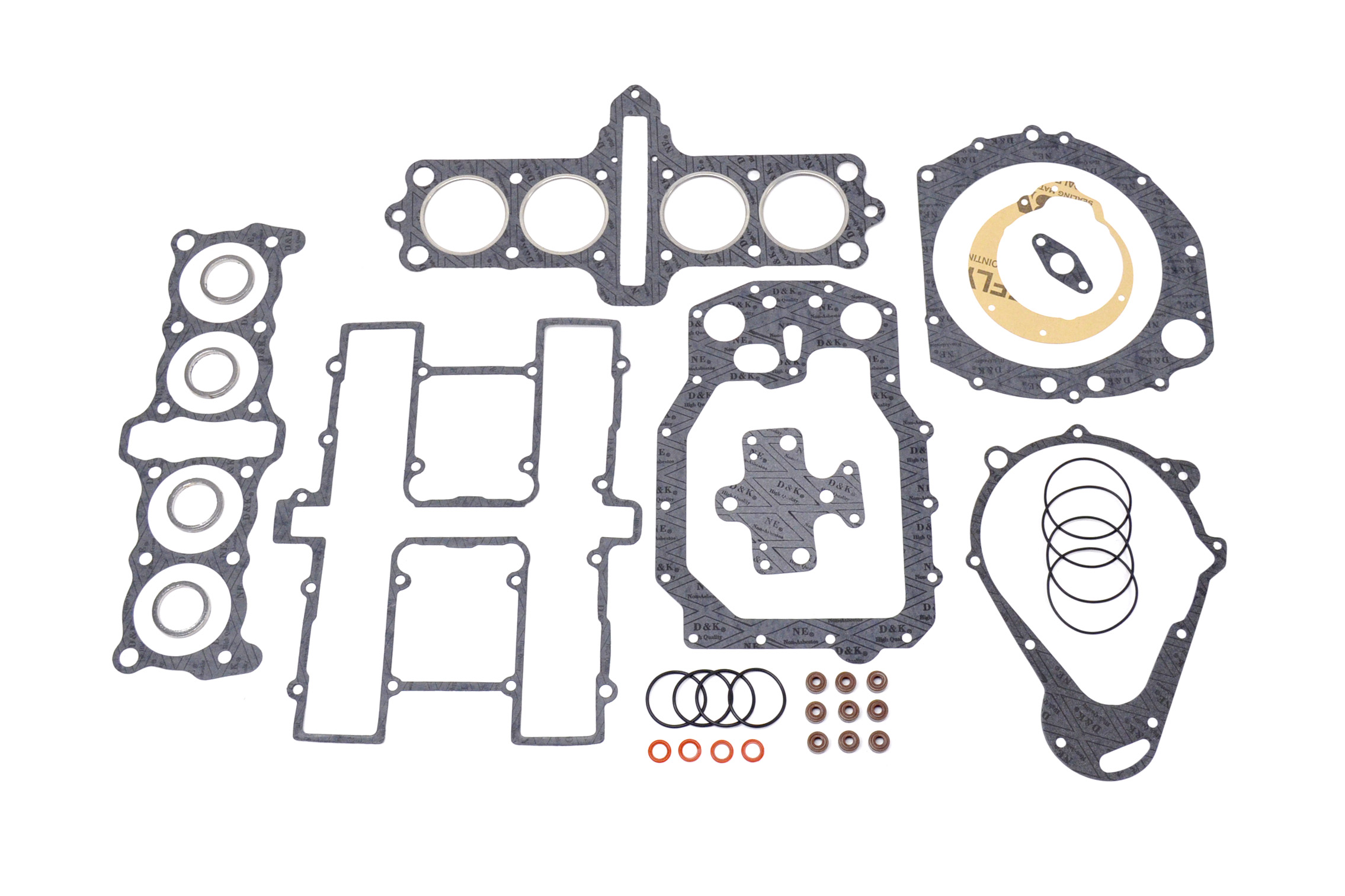 Suzuki Gs650 Top Bottom End Complete Engine Gasket Set Kit