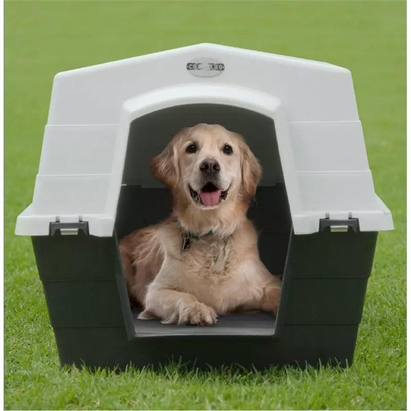 les niches pour chien en plastique