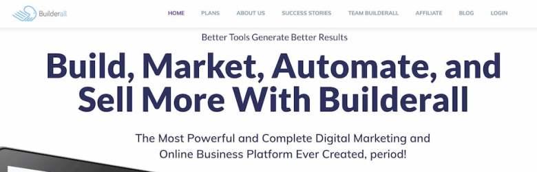 BuilderAll: alternativa a ClickFunnels