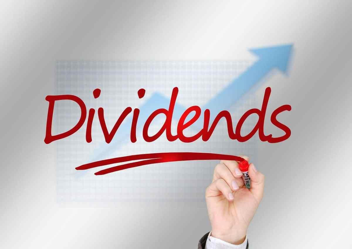 dividends underlined