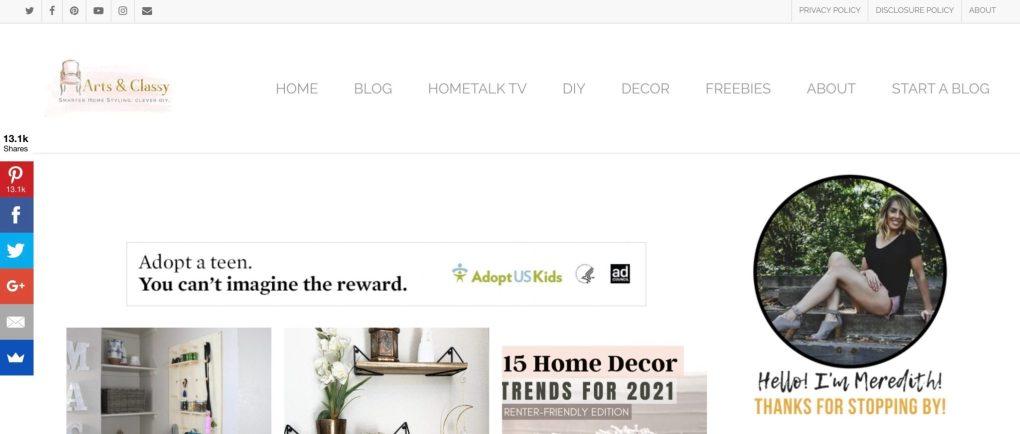 home decor affiliate marketing websites