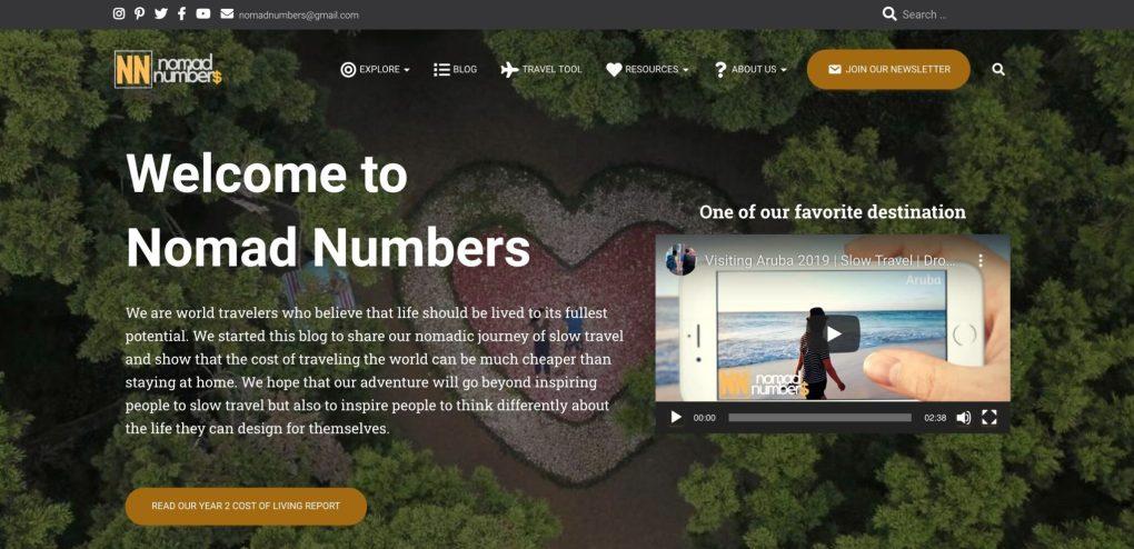 travel affiliate marketing websites