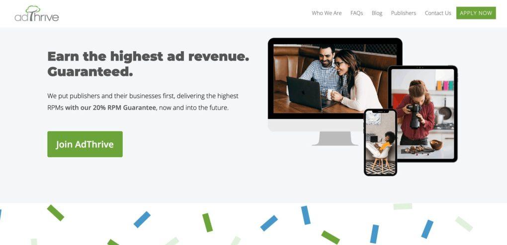 Adthrive, eine Alternative zu Google AdSense