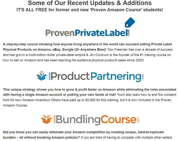 proven-amazon-course-latest-additions
